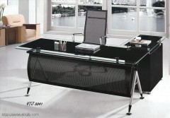 Stanless steel and Glass desk